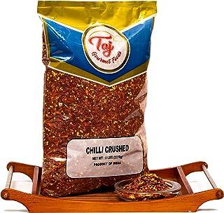 TAJ Premium Crushed Pepper Red Chilli Flakes, (5-Pounds)