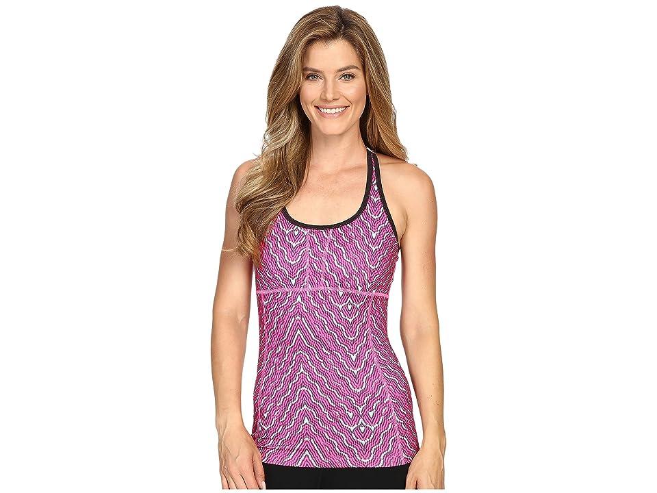 Mountain Hardwear Mighty Activatm Printed Tank Top (Pink Burst) Women