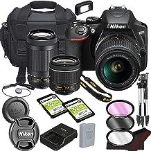 Nikon D3500 DSLR Camera Bundle with 18-55mm VR + 70-300mm Lenses   Built-in Wi-Fi 24.2 MP CMOS Sensor    EXPEED 4 Image Pr...