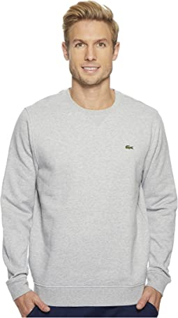 Lacoste Sport Crew Neck Fleece Sweatshirt