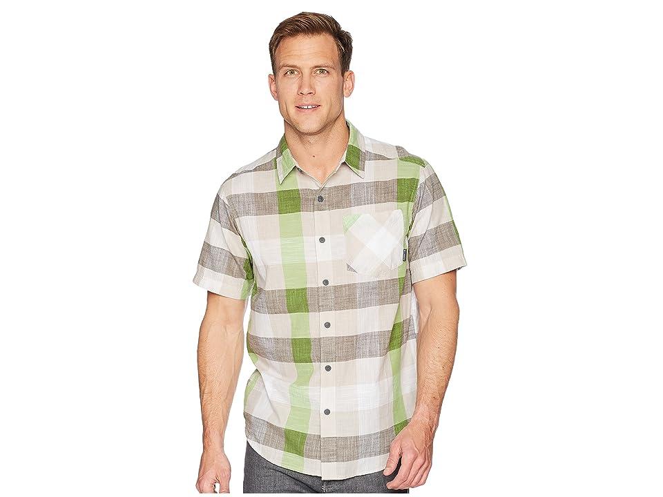 Columbia Katchortm II S/S Shirt (Peatmoss Large Check) Men