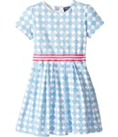 Toobydoo - Jersey Belted Party Dress (Toddler/Little Kids/Big Kids)