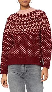 Superdry Chunky Jacquard Crew Pull Femme