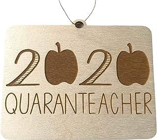 Customizable 2020 Quaranteacher Ornament,2020 Teacher Appreciation Gift,Teacher Gift,Covid-19,Social Distancing,Social Dis...
