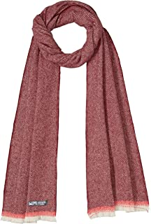 Waverley Mills Women's EdgeScarfRed, Red, One size