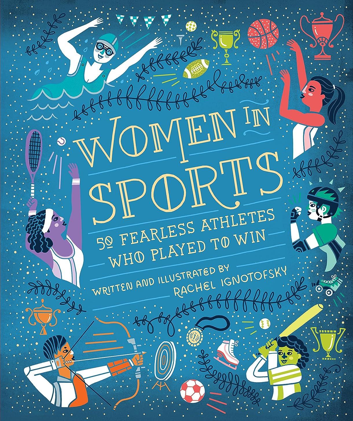 セールスマン検索漫画Women in Sports: 50 Fearless Athletes Who Played to Win (Women in Science) (English Edition)