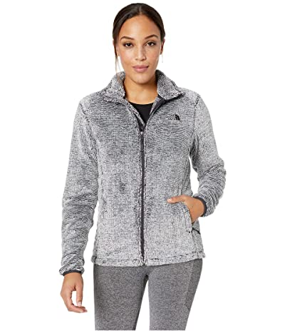The North Face Osito 2 Jacket (Weathered Black/Tin Grey Stripe) Women