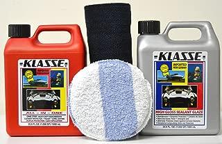 Autosmart Klasse 33.8oz Sealent Glaze & 33.8oz All in One w/Free Microfiber & Applicator
