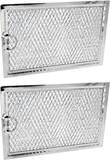 2 Pack Air Filter Factory Compatible Behind Vent for Frigidaire 5304464577 Microwave Oven Charcoal Carbon Filter
