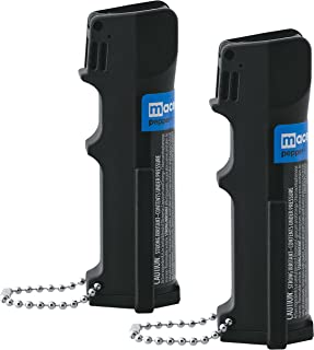 Maximum Protection Bundle: Mace Brand Triple Action Police Model Pepper Sprays - Lot of 2 Pieces