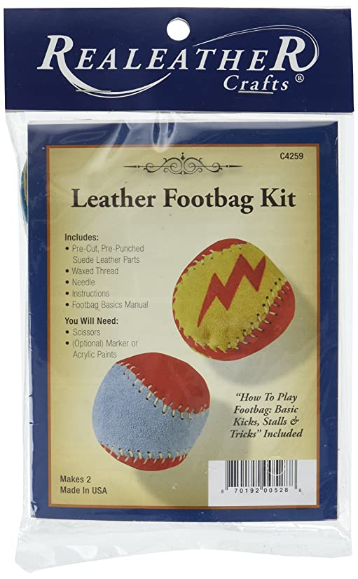 Silver Creek Leather Co. C4259-00 Kit Foot Bag, None