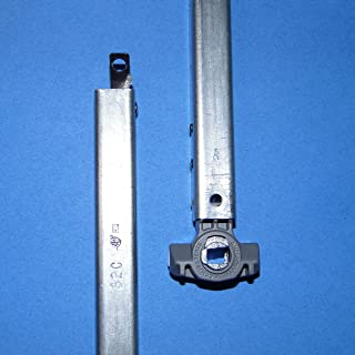 """BSI 32"""" Inverted Block and Tackle Window Channel Stamped 32C with Clip and Shoe Shown"""