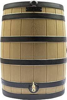 Good Ideas RW50-DR-TC Rain Wizard Rain Barrel 50-Gallon Darkened Ribs, Terra Cotta