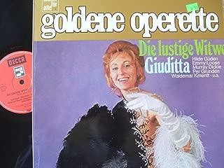 GOLDENE OPERETTE- DIE LUSTIGE WITWE- GIUDITTA- HILDE GUEDEN