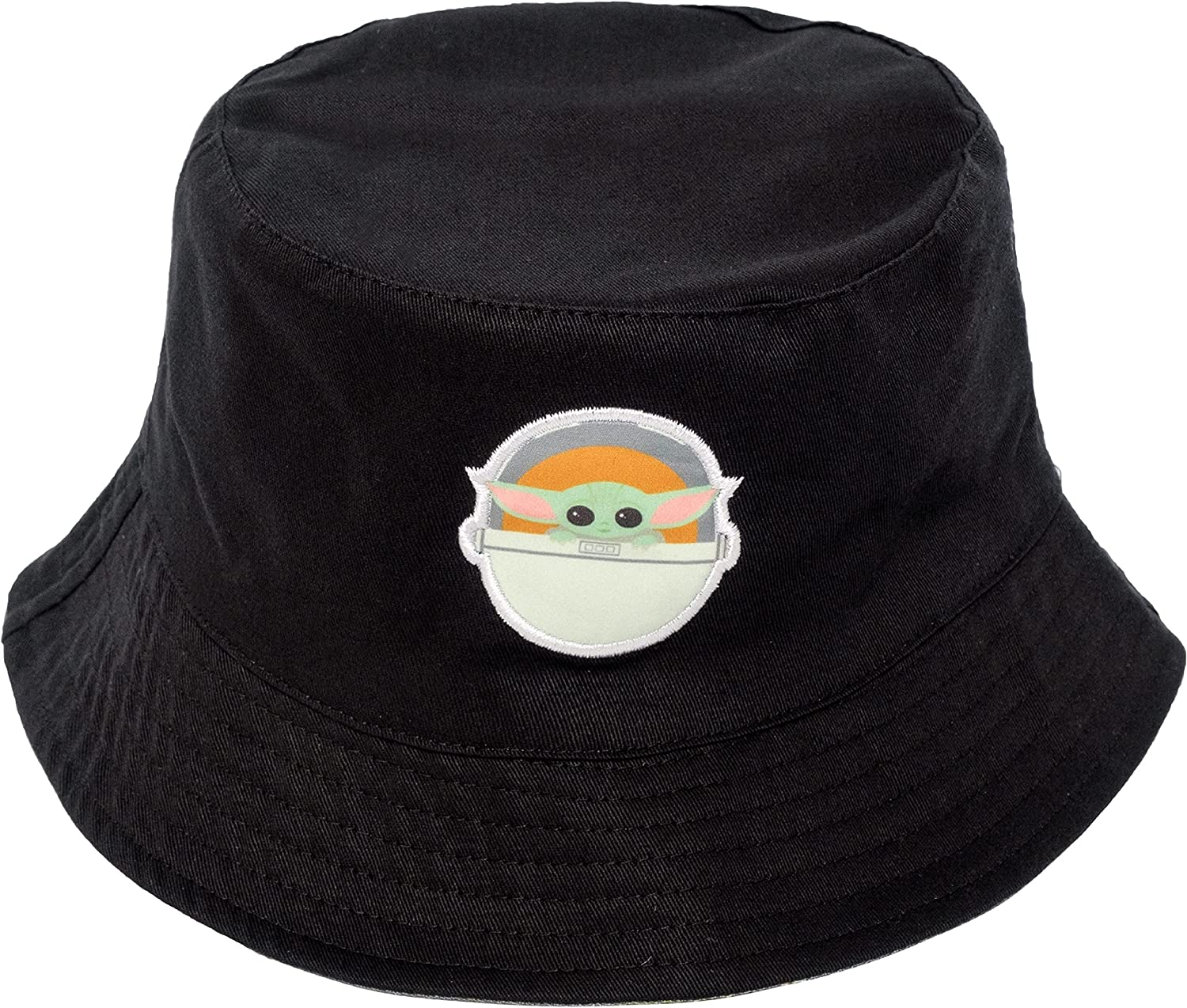 Concept One Star Wars The Mandalorian The Child Speedy Cotton Bucket Hat, Black and Olive, One Size at  Women's Clothing store