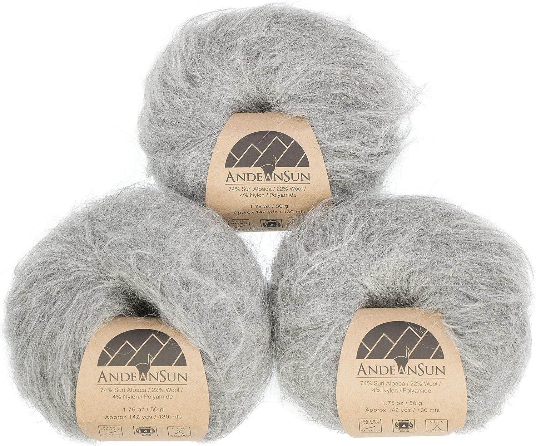 Cloudy Extra Soft Suri Alpaca Merino Wool Weight Yarn # Soldering Category Max 81% OFF