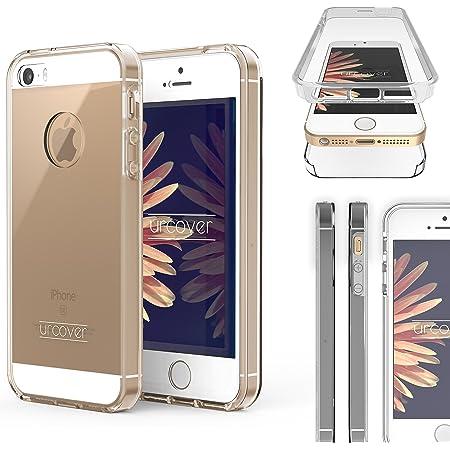 MoEx Cover Fronte-Retro in Silicone Compatibile con iPhone 5s / 5 ...
