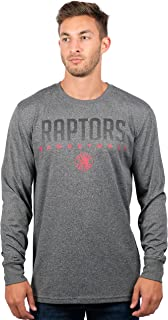 Ultra Game NBA Men's Athletic High-Performance Long Sleeve Tee Shirt