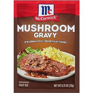 McCormick Gravy Mix, Mushroom, .75 oz
