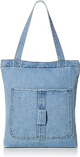 IMON环保袋 a4包 带拉链手提包 牛仔包 手提包 即刻交货 LZHI-003-A-DB-FF