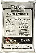 Heartland Food Products Belgian Waffle and Pancake Mix, Malted Vanilla, 5 Pound