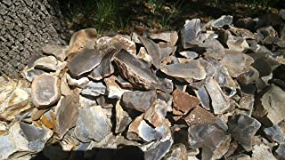 Indian Quarry - Georgetown Blue Flint Debitage - 25 pounds