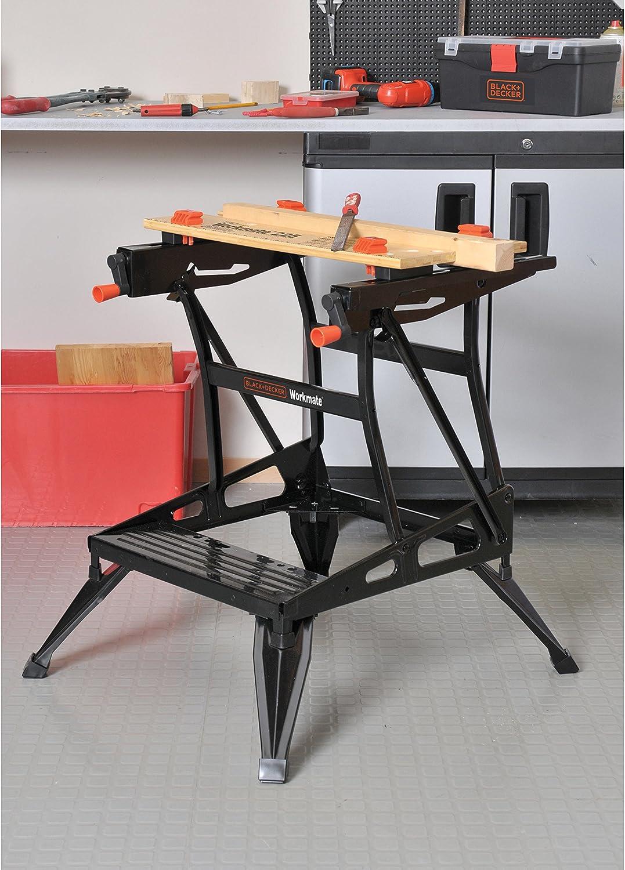 BLACK+DECKER WM225-A Portable Project Center and Vise