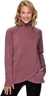 Active Women's Zip Mock Pullover with Tulip Crossover