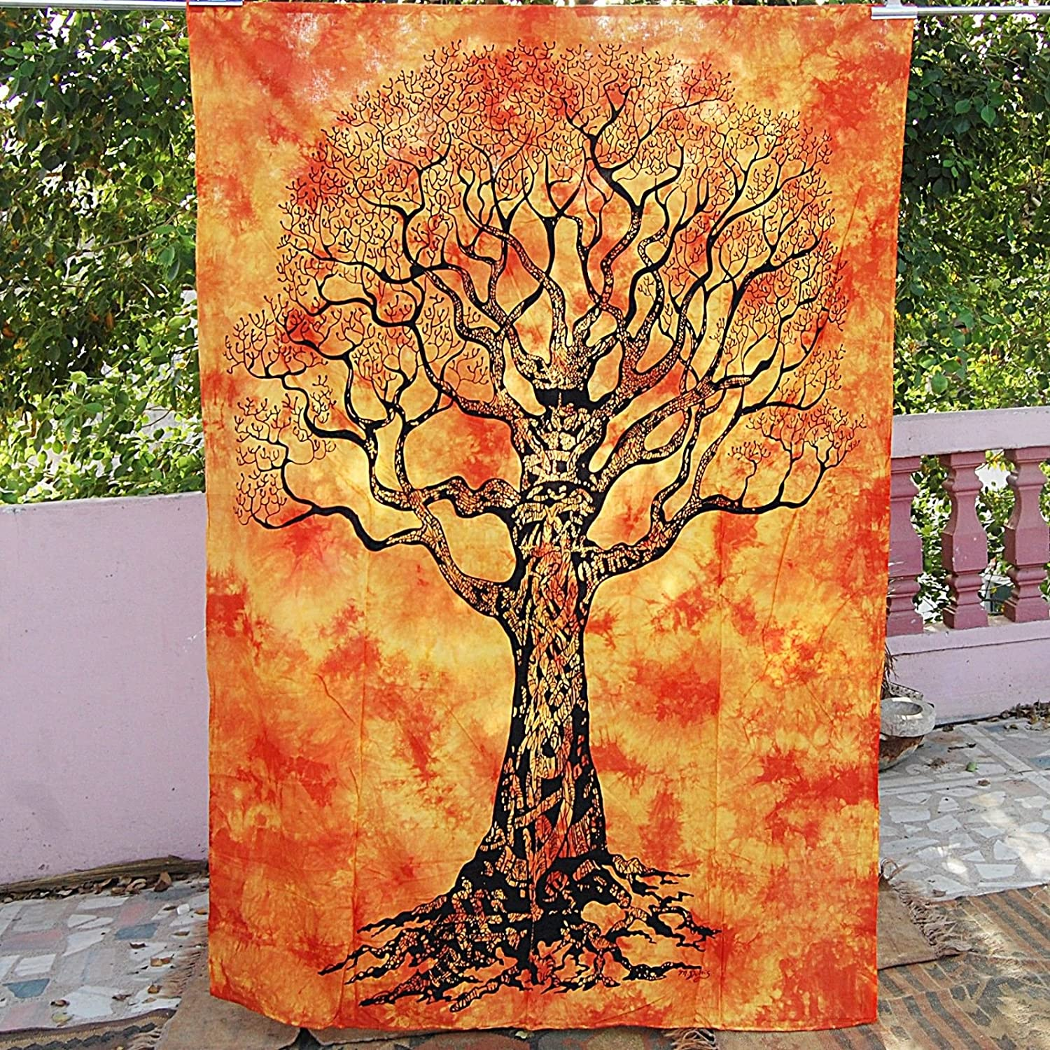 Future Handmade Tapestry Colorful Wall Hanging Hippies Tapestry Poster Size, Design P10