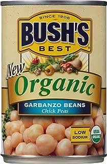 Bush's Best Organic Garbanzo Beans, 15 oz (12 cans)
