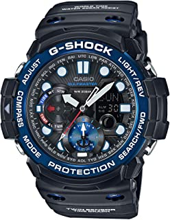 Casio G-Shock Gulfmaster Analogue/Digital Mens Black Watch GN1000B-1A GN-1000B-1ADR