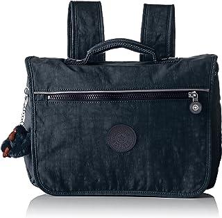 (Emerald Combo) - Kipling - New School - Medium Schoolbag - Emerald Combo - (Blue)