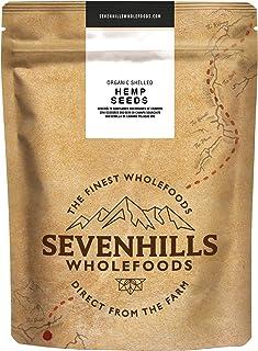 Sevenhills Wholefoods Semilla De Cáñamo Peladas Crudas Org