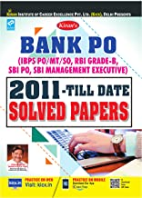 Kiran's Bank PO Solved Papers PO/MT/SO,RBI Grade B,SBI PO,SBI Management Executive Solved Papers 2011 - Till Date