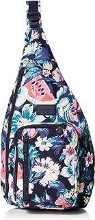 Women's Recycled Lighten Up ReActive Sling Backpack, Garden Picnic, One Size