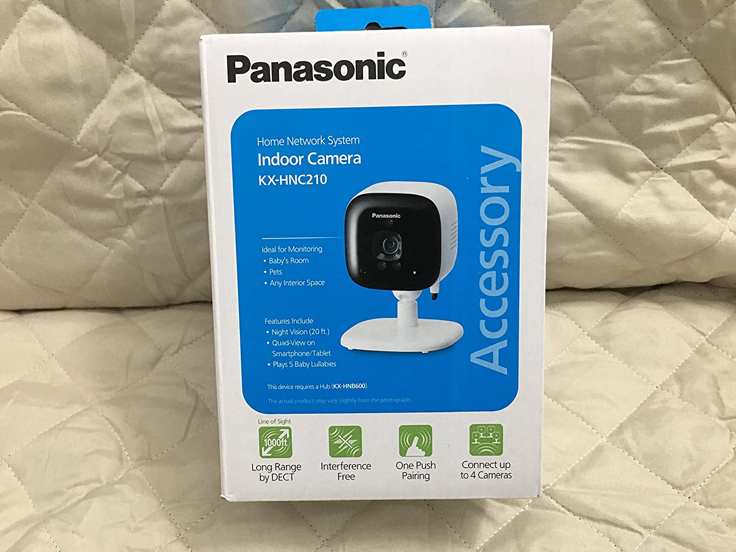 PANASONIC Home Monitoring System Indoor Camera - KX-HNC210W Add-on