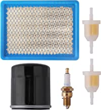 Podoy Club Car Tune Up Kit with Air Oil Fuel Filter Spark Plug for 1992-2004 Golf Cart DS Gas