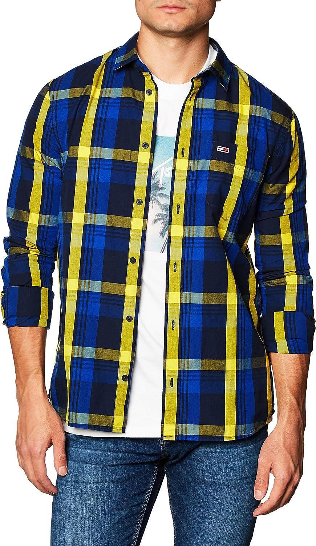 Tommy Jeans Tjm Multicheck Shirt Camisa Hombre