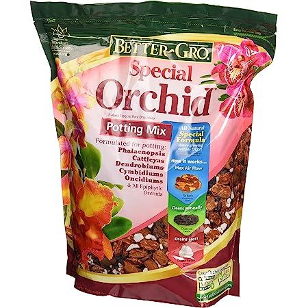 Sun Bulb 50000 Better Gro Special Orchid Mix, 4-Quart