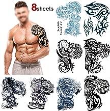 Amazon.es: tatuajes temporales hombre