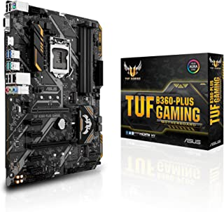 ASUS TUF B360-PLUS Gaming LGA1151 (300 Series) DDR4 HDMI VGA M.2 ATX Motherboard