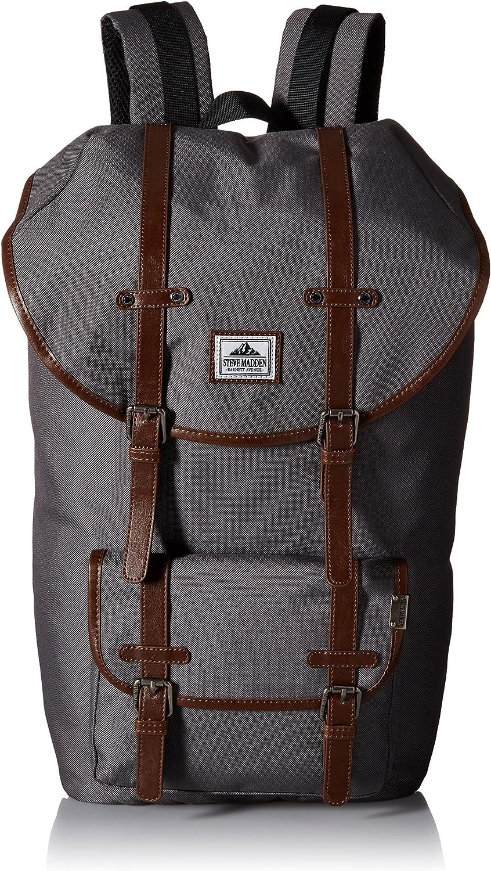 Steve Madden Men's Utility Backpack, Grey One Size