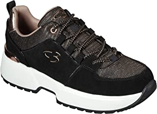 Concept 3 by Skechers Women`s to Top It Off Lace-up Fashion Sneaker