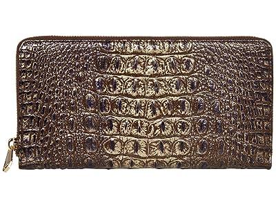 Brahmin Melbourne Skyler Wallet (Umbra) Wallet Handbags