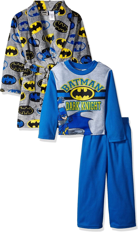 price DC Comics Boys' Batman 2-Piece with Pajama Set Robe Finally resale start