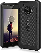 Urban Armor Gear Moto G5 [5-Inch Screen] Outback Feather-Light Rugged [Black] Military Drop Tested Phone Case Back Cover