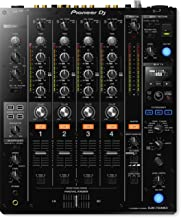 Pioneer DJ DJM-750MK2 4-Channel Digital DJ Mixer with Club DNA | 6 Sound Color & 11 Beat FX | 3-band Switchable Iso EQ and Send/Return Loop BUNDLE with 6 x Senor Microphone Cable & Zorro Sounds Cloth