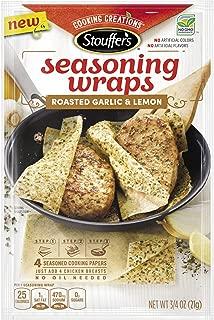 Stouffers Seasoning Wraps Roasted Garlic & Lemon, 0.74 oz