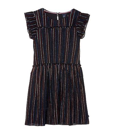 Tommy Hilfiger Kids Metallic Stripe Dress (Big Kids) (Multicolor) Girl