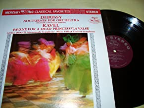 Debussy-Nocturnes for Orchestra (Clouds-Festivals-Sirens)/Ravel-Pavane for a Dead Princess/La Valse vinyl record